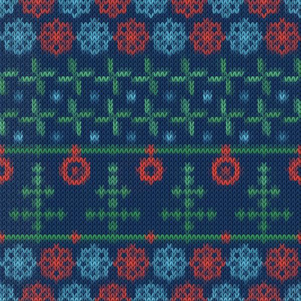 Christmas sweater seamless pattern vector 07