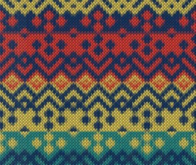 Christmas sweater seamless pattern vector 10
