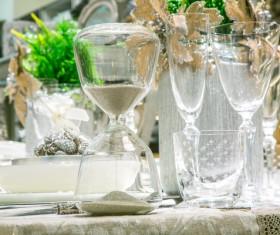 Christmas tableware Stock Photo 08