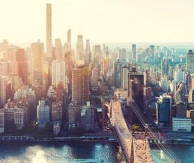 City skyscraper Stock Photo