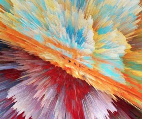 Colorful Explosive Textures Stock Photo 02