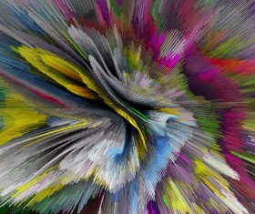 Colorful Explosive Textures Stock Photo 03