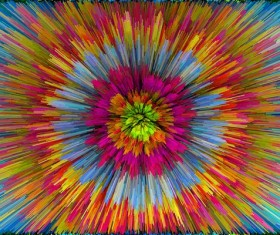 Colorful Explosive Textures Stock Photo 04