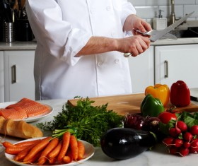 Cooking food Stock Photo 02