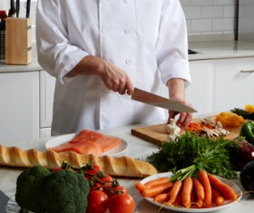 Cooking food Stock Photo 03