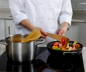 Cooking food Stock Photo 05