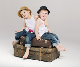 Cute children Stock Photo 04