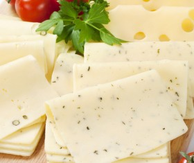 Different types of cheese dairy products Stock Photo 01
