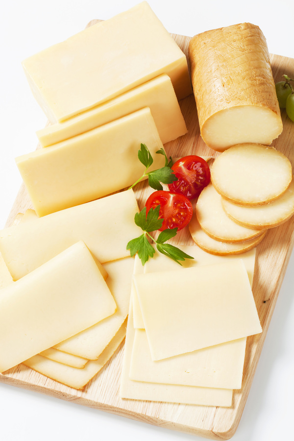 Different types of cheese dairy products Stock Photo 02