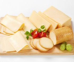 Different types of cheese dairy products Stock Photo 03