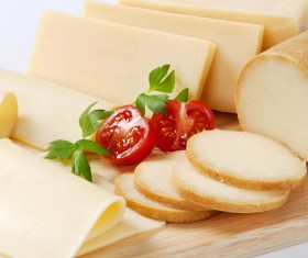 Different types of cheese dairy products Stock Photo 04