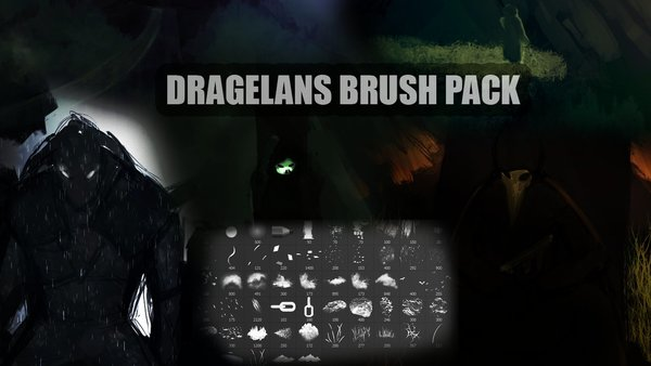 Dragelans Photoshop Brushes
