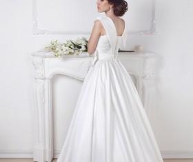 Elegant and beautiful bride Stock Photo 05