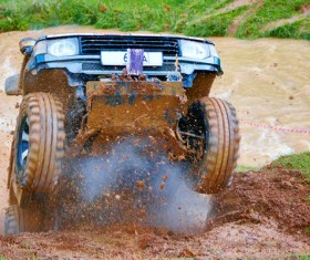 Extreme four wheel racing Stock Photo 02