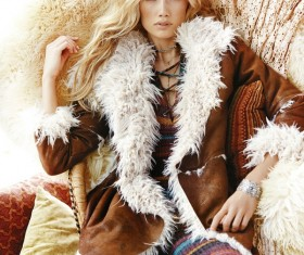 Fashion girl dress Stock Photo