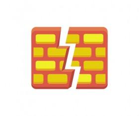 Firewall Breach Icon