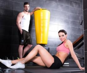 Fitness Trainer Stock Photo