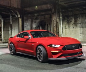 Ford Mustang 5.0 GT Mustang Stock Photo