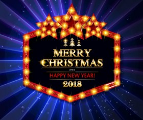 Gold with diamond christmas background vectors 08
