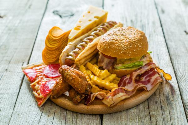 Hamburger pizza sandwich fast food Stock Photo 02 free download