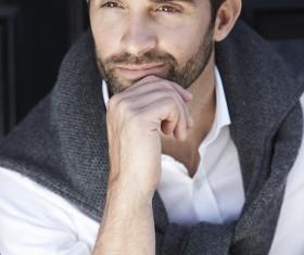 Handsome fashion man Stock Photo