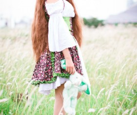 Lolita girl Stock Photo