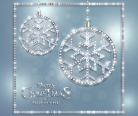 Luxury christmas jewelry decor background vector 02