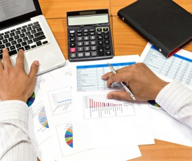 Market data consolidation Stock Photo 04
