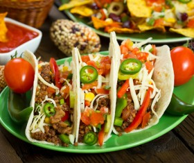 Mexican delicious softtaco Stock Photo 04