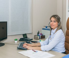 Office professional women Stock Photo