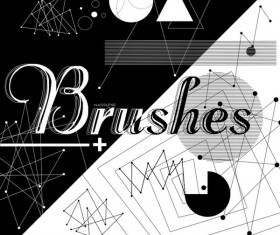 Points Lines Photoshop Brushes
