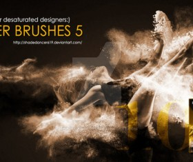 Powders Photoshop Brushes
