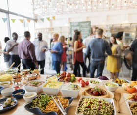 Rich party food Stock Photo 01