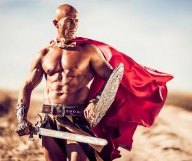 Roman Gladiator Stock Photo 01
