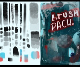 Rrace Photoshop Brushes