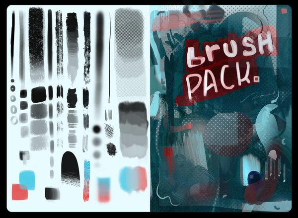 Rrace Photoshop Brushes