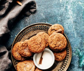 Salt biscuits Stock Photo
