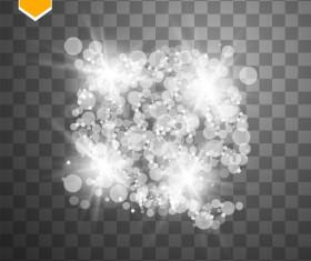 Shining light effects illustration vector 02