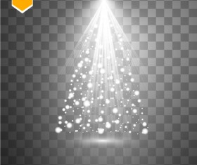 Shining light effects illustration vector 05