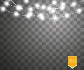 Shining light effects illustration vector 08