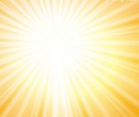Shining sunlight background vector 01
