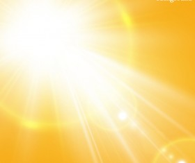 Shining sunlight background vector 02
