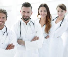 Smiling doctors Stock Photo