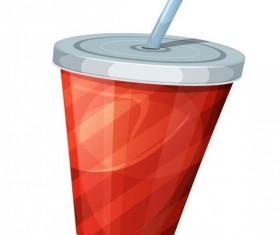 Soda drink illustration vector