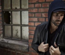 Street fashion Man Stock Photo 01