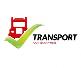 Transport logo vector