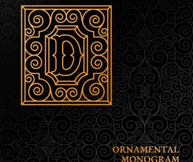Vintage ornaments pattern luxury design vector 01