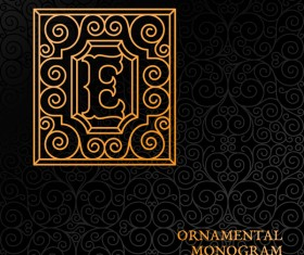 Vintage ornaments pattern luxury design vector 02
