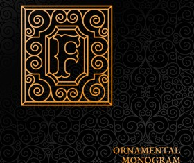 Vintage ornaments pattern luxury design vector 03