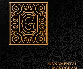 Vintage ornaments pattern luxury design vector 04